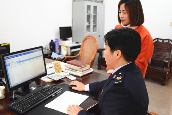 溪口国税分局落实代办出口退税政策支持中小企业开拓国际市场