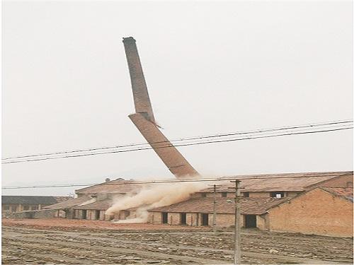 奉化区域内轮窑烧结砖瓦窑企业全部淘汰